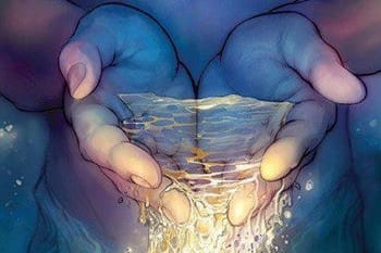 shamamama honoring your abilities hands with light pouring out