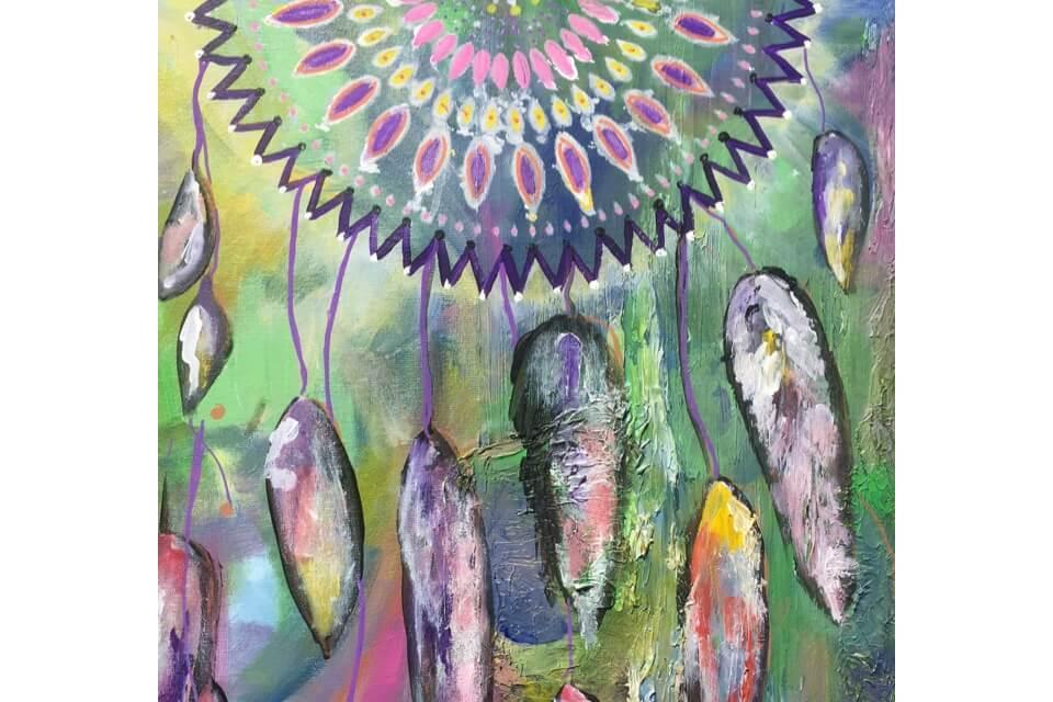 Painting Dream Catchers – Painting Workshop