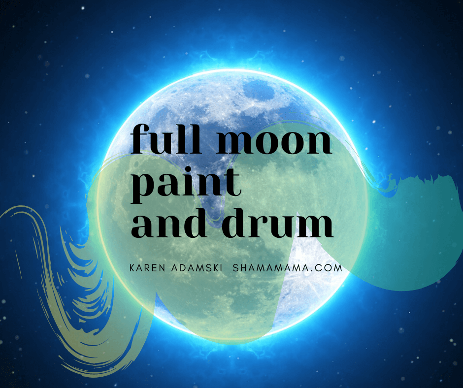 full moon paint and drum 1 small