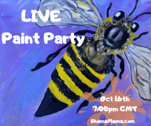 LIVE Bee Paint Party